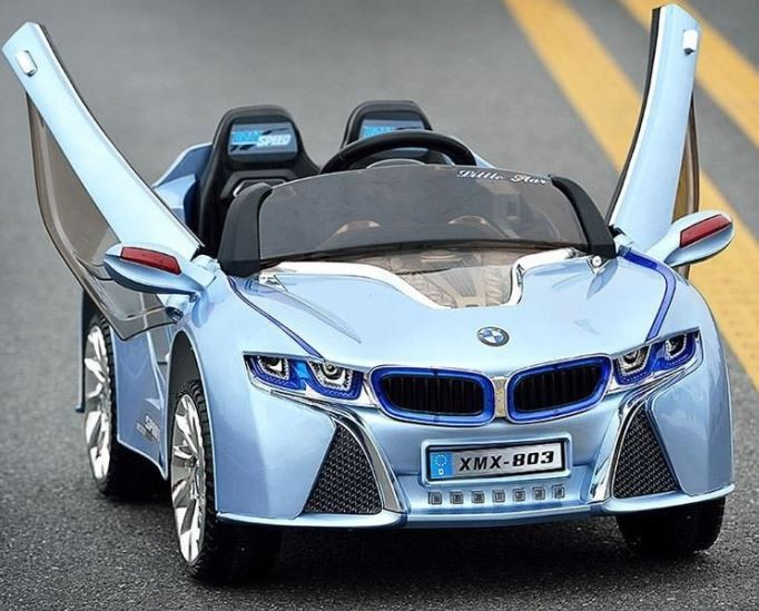 2016 New Bmw I8 Style Ride On Car For Kids With Rc Blue