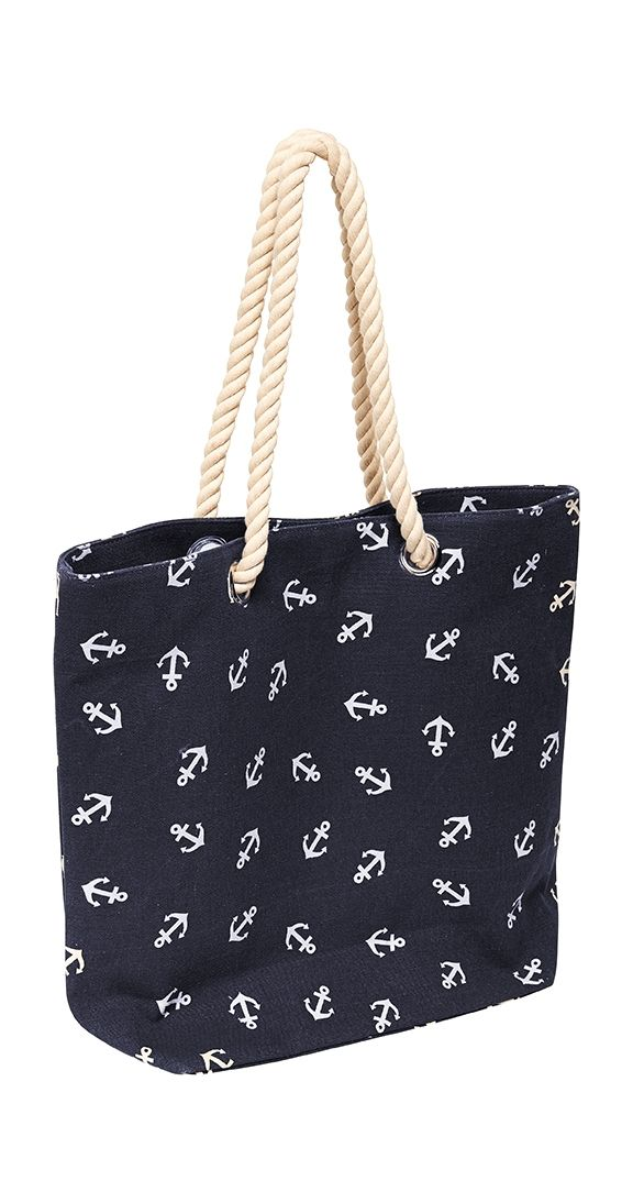 Cut loose and set sail - destination, Style Port! You'll be navigating every situation with your trusty tote, and never be caught in bad weather feeling unprepared. Aye Aye Captain, anchor's up!