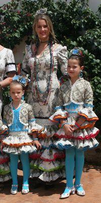 carretasybueyes  Conjunto flamenca. Touile de Jou. Torera a juego