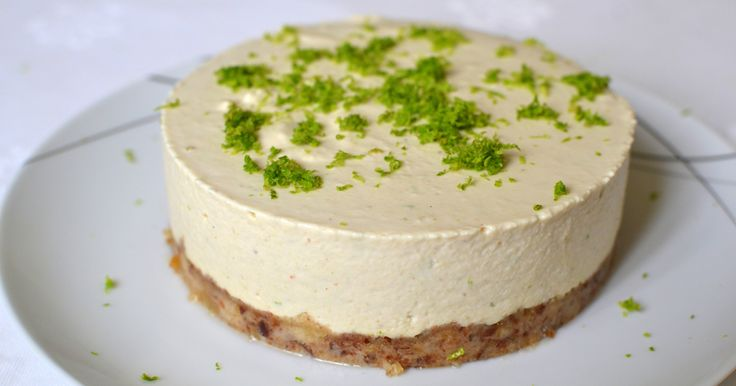Lime and Lemon Cheesecake (Paleo, Raw, Vegan)