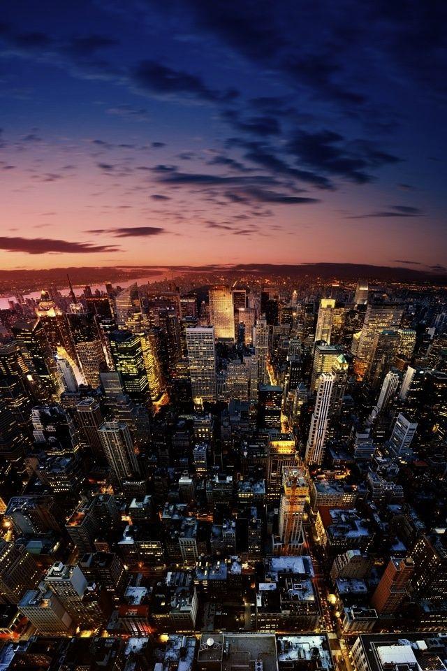 City Iphone Wallpaper Iphone Backgrounds Pinterest New York