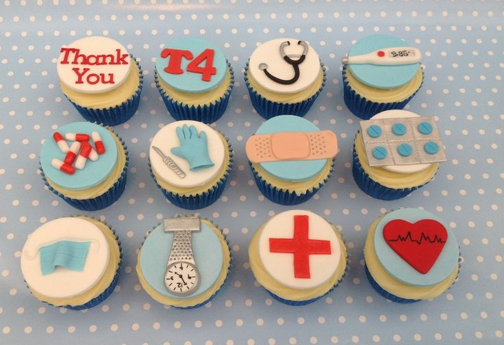 Hospital Themed Cupcakes. - Cake Central
