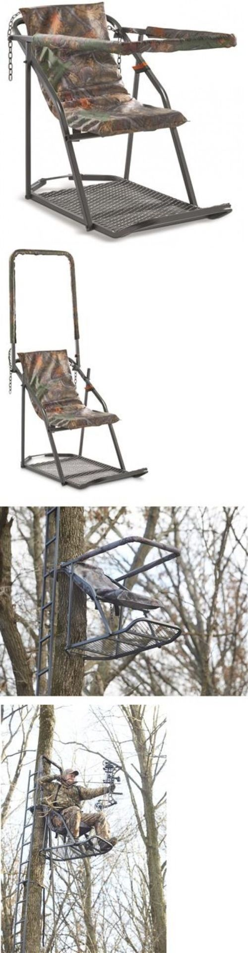 Bow hunting chair - Tree Stands 52508 Hunting Deer Stand Big Game Tower Tree Stand Turkey Coyote Outdoors Safety