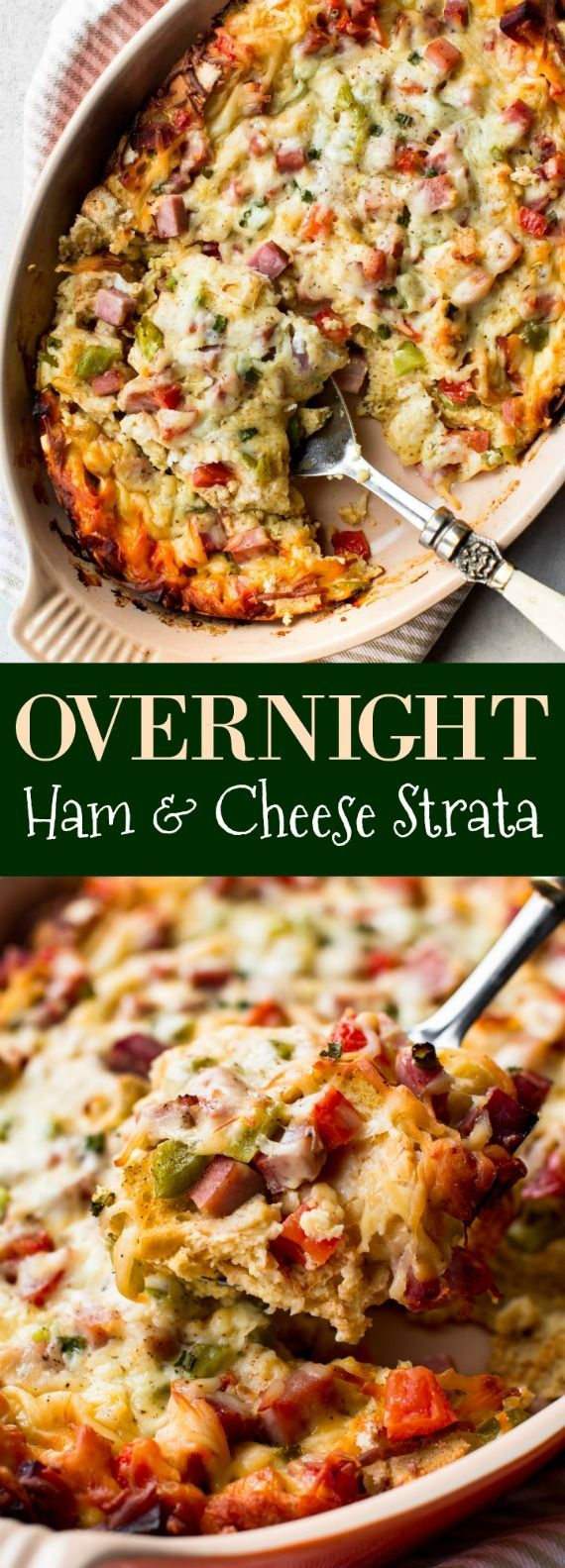 Overnight Egg & Cheese Strata Recipe — Dishmaps