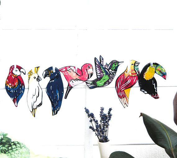 Hummingbird ornament Tropical Christmas ornaments