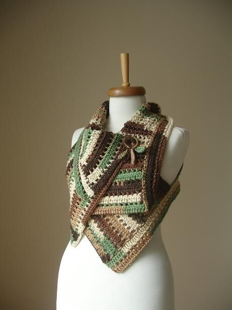 Casmere Vest ... Casmere and Bamboo LuxuriousVest door crochetlab