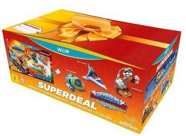 Skylanders SuperChargers - Starter Pack - Superbundle für Nintendo Wii U kaufen | eBay