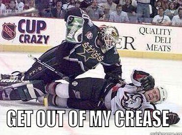Outta My Crease!!