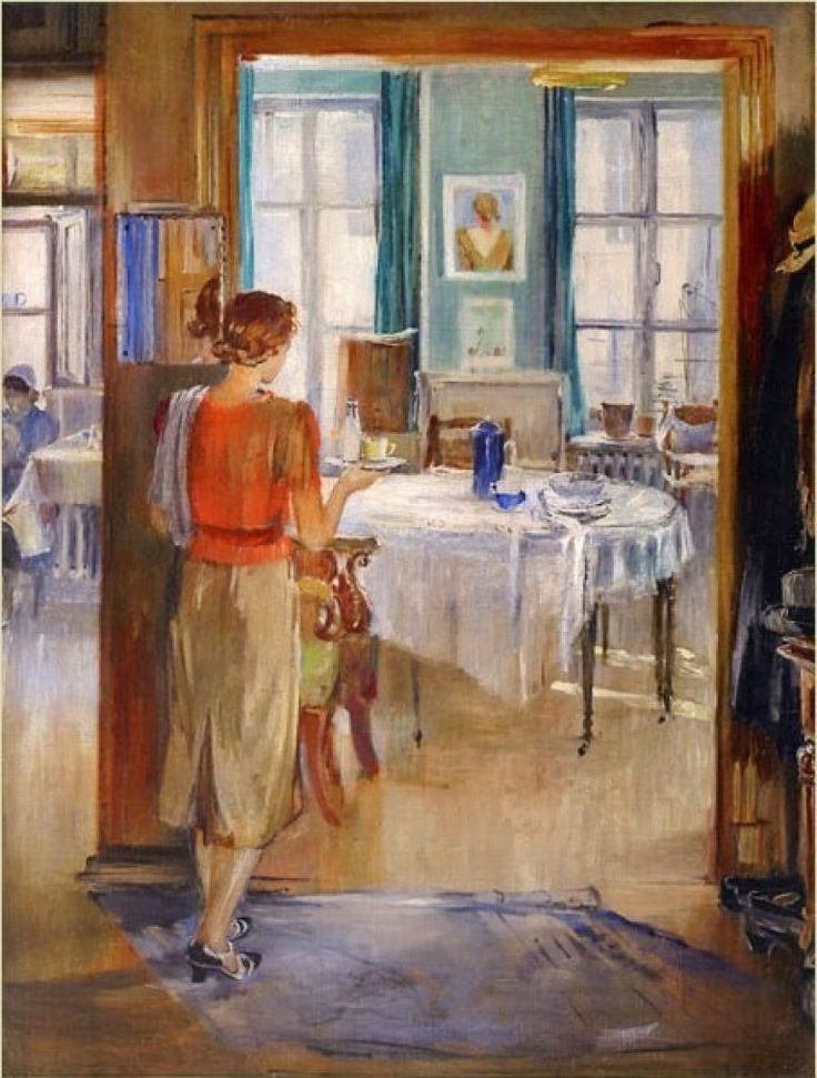 розы советский быт в картинах художников являющийся настоящим произведением