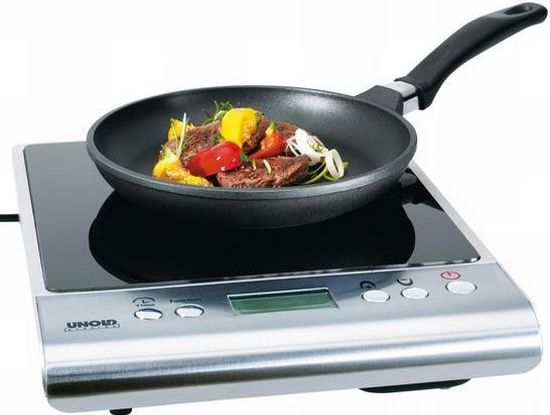 Instead of an oven, use induction cook tops.