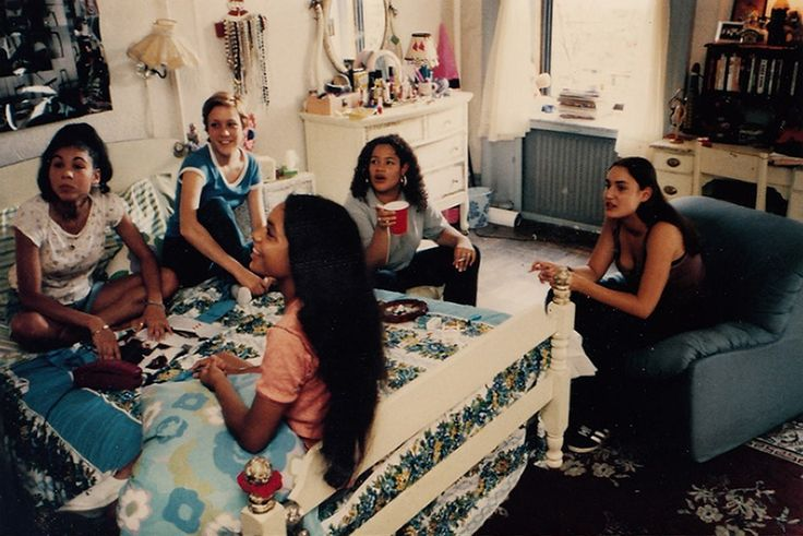 Unseen images from the set of Larry Clark's 'Kids', 1995 Courtesy of Kim Druce-Sava
