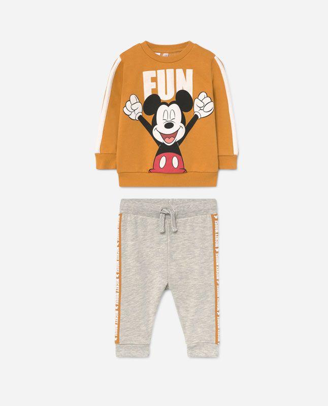 Conjunto Disney Cuello Redondo para beb/é ni/ña