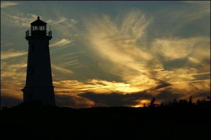 Louisbourg Lighthouse  Cape Breton Island