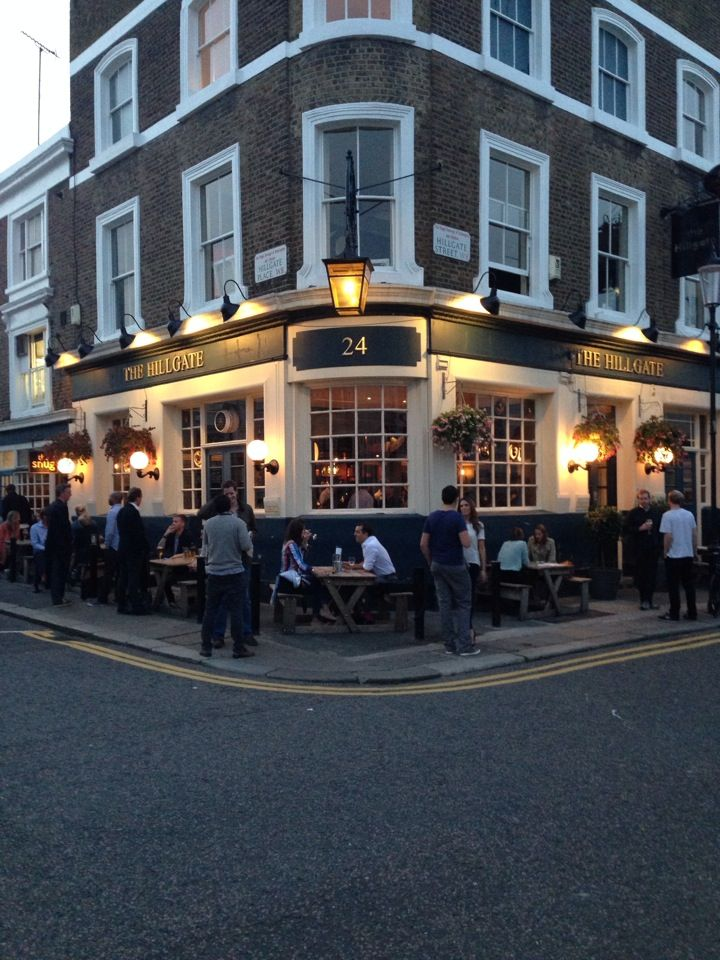 The Hillgate in Notting Hill: sweet neighbourhood gastro pub