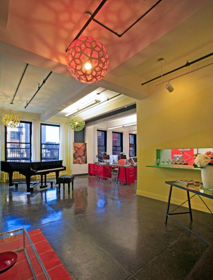 Inside the Playful and Colorful Offices of Sing for Hope - Office Snapshots