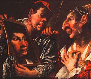 Pietro <Muttoni - Allegoria della vanità - Palazzo Thiene