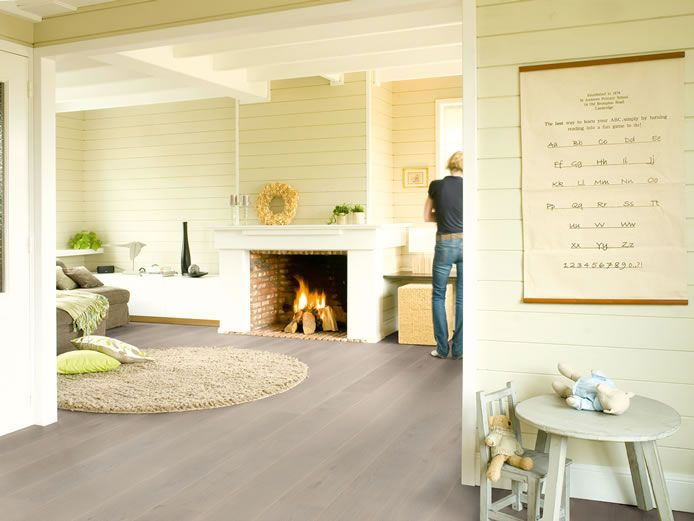 Quickstep Palazzo White Pepper Oak Oiled PAL1474 Engineered Wood Flooring