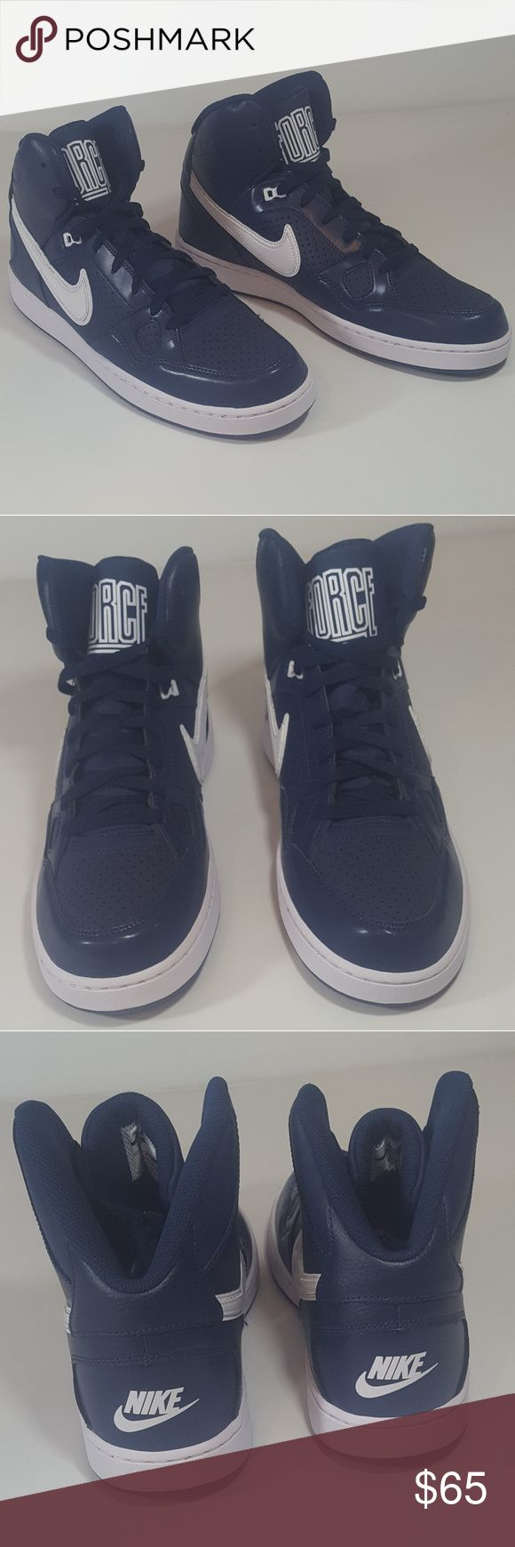 Nike Son Of Force size (11) Mid Top Sneakers Nike Son Of Force size (11) Mid Top Sneakers BRAND NEW! Nike Shoes Athletic Shoes