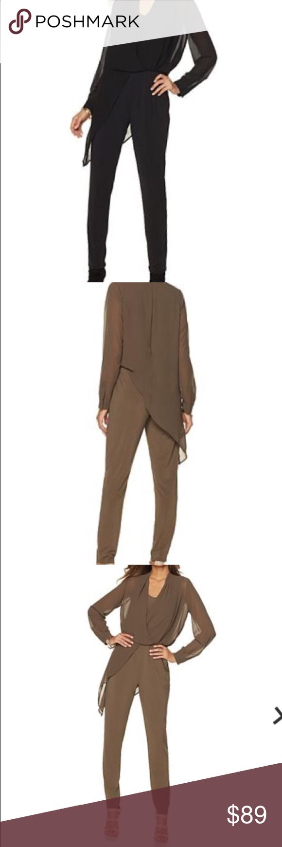 Nene by Nene Leaks Jumpsuit NENE by Nene Leakes Jumpsuit with Sheer Overlay - BLACK. New, never worn. (Pictures from site, to show what it looks like when on.) NENE by NeNe Leakes Pants Jumpsuits & Rompers
