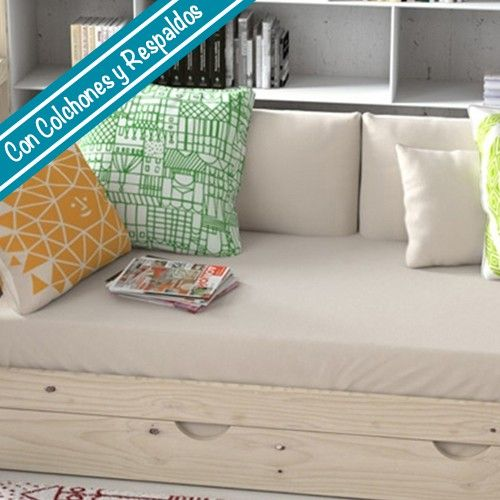 Las 25 mejores ideas sobre sof cama nido en pinterest for Fundas de colchon ikea