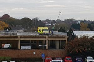 Two taken to hospital after crash in Kettering supermarket car park #Kettering #Northants http://www.northantstelegraph.co.uk/news/two-taken-to-hospital-after-crash-in-kettering-supermarket-car-park-1-7678337