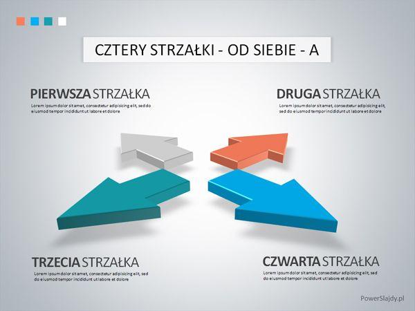 Strzałka 3D - slajd PowerPoint http://www.powerslajdy.pl/pl/p/Strzalki-4/82