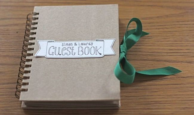 Have a Guest Book at Wedding to Interact with All Guests