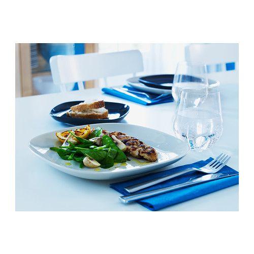 IKEA 365+ Tanier IKEA Tanier je vyrobený zo živcového porcelánu, vďaka čomu je pevný a odolný voči nárazom.