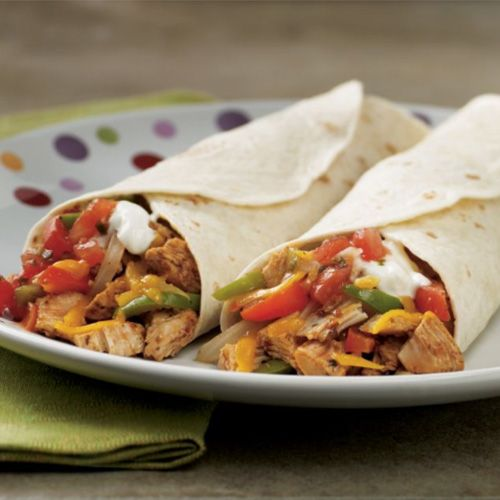 Rush Hour Chicken Fajitas - The Pampered Chef® need to try this one.
