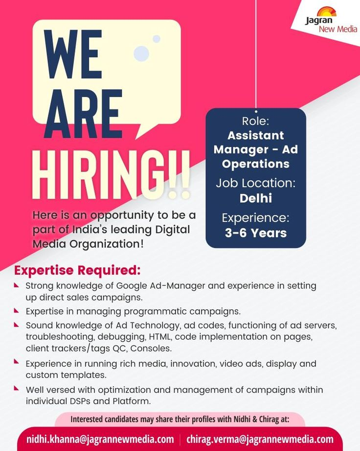 Assistant manager operations india job openings in 2020