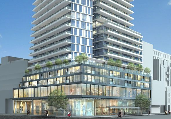 Heritage buildings could derail Yorkville condo project