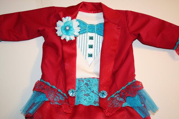 Girl Circus Ringmaster Outfit Costume