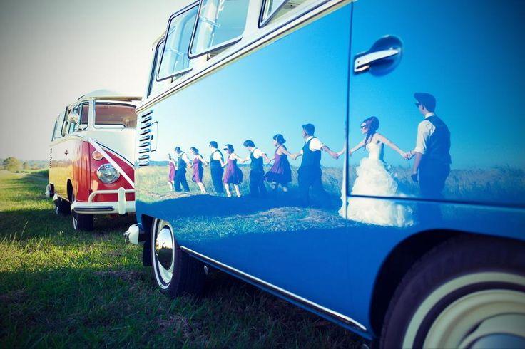 Photographer Sunshine Coast - Dream Bella - Wedding Photography Wedding Transport is Deluxe Kombi Service. #SunshineCoastWedding #WeddingTransport