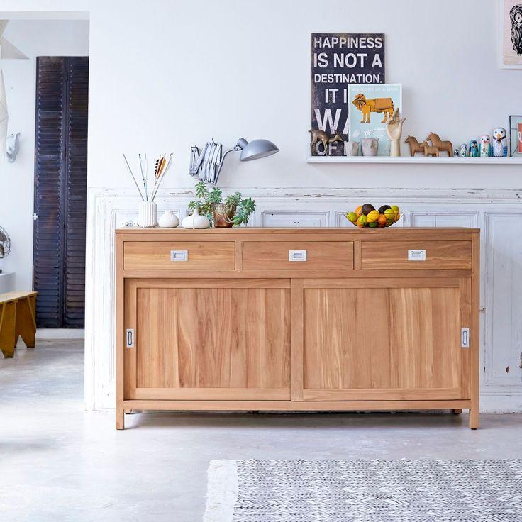 les 51 meilleures images du tableau buffets et bahuts du s jour sur pinterest bois exotique. Black Bedroom Furniture Sets. Home Design Ideas