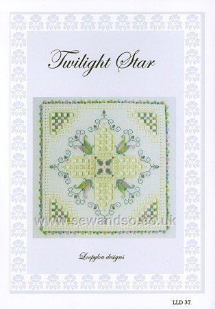 Buy Twilight Star Hardanger Chart Pack Online at www.sewandso.co.uk