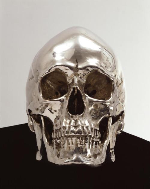 : Silver Skulls, Chrome Skulls, Artsi Fartsi, Aargau Kris, Anatomical Art, Death Head, Kris Martin, Arti Fabulously, Bones Head