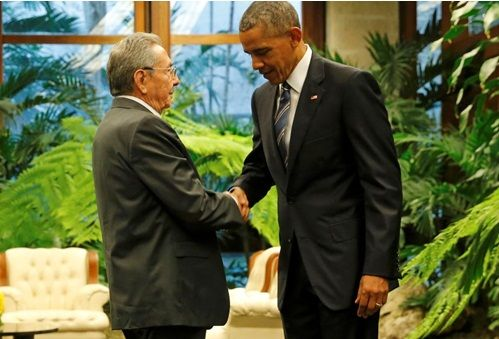 Obama Cuba visit: Opmist to eliminate economic embargo, presses Castro to improve human rights