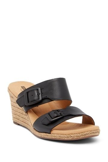 3b6948fb378 Image of Clarks Lafley Devin Wedge Sandal