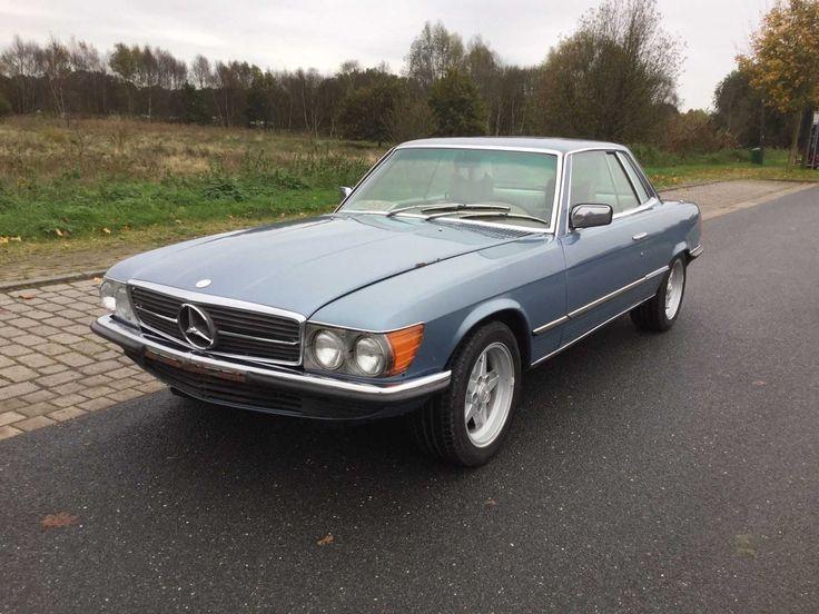 Mercedes Benz W107 450 SLC Oldtimer Coupe H-Zulassung Ohne Mindestpreis 1978