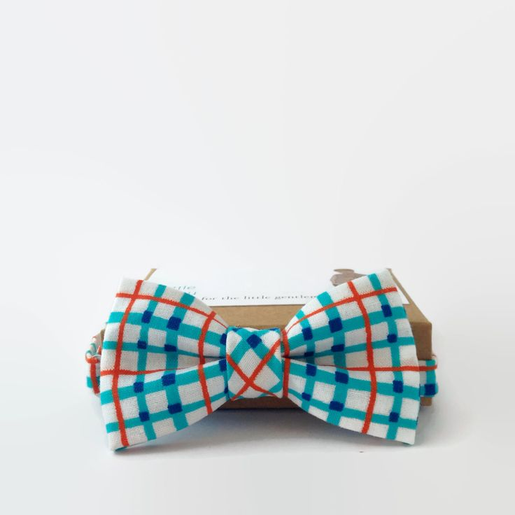 Little Beau- Boys Bow Tie on Etsy $35.00