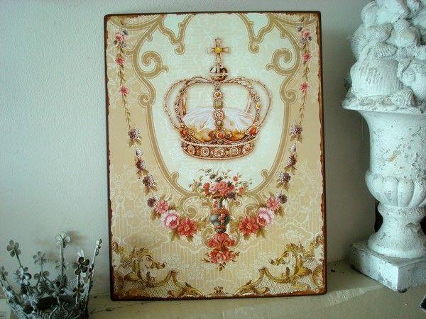 Plaques murales r tro vintage plaques d coratives pinterest m taux - Plaques decoratives murales ...