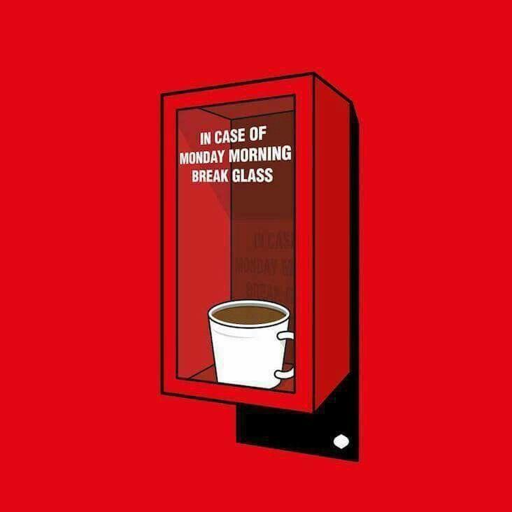 #coffee #coffeehumor In case of emergency..,