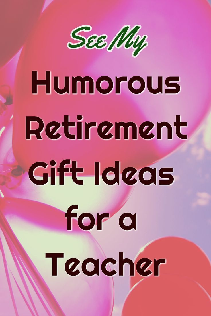 Humorous Retirement Gift Ideas for a Teacher. Find a range of funny gift ideas for a reiting teacher.