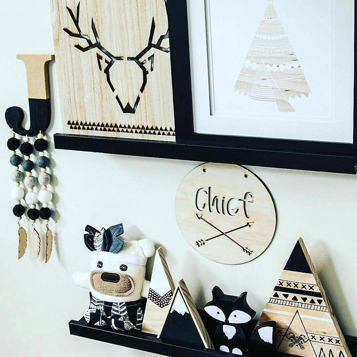 "73 Likes, 14 Comments - Woodland Ends (@woodlandends) on Instagram: ""How amazing is this shelfie by the talented @mytribe_myvibe. Our little Black Fox Shelfie Figure is…"""