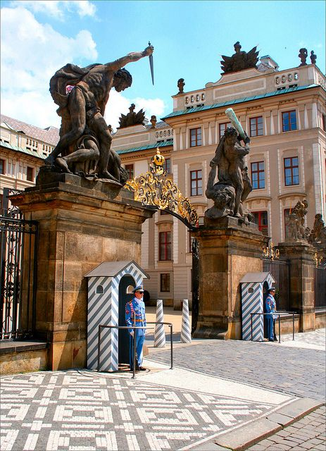 Castle Entrance, Prague, Czech Republic