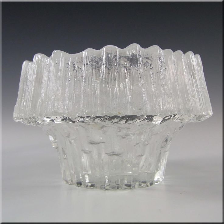 Iittala Glass Stellaria Candlesticks Tapio Wirkkala - Label - £29.99