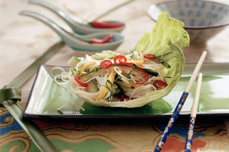 Kijk wat een lekker recept ik heb gevonden op Allerhande! Cambodjaanse mihoensalade