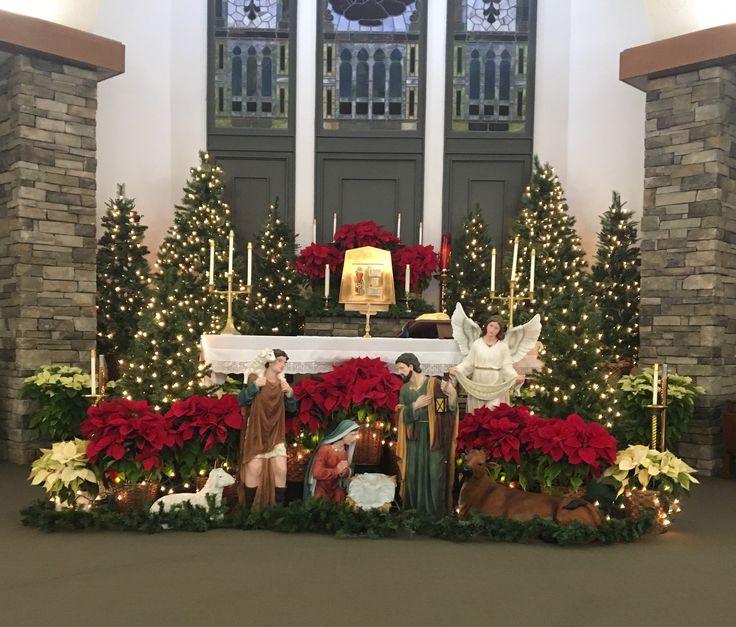 Catholic Wedding Altar Decorations: Best 25+ Church Christmas Decorations Ideas On Pinterest