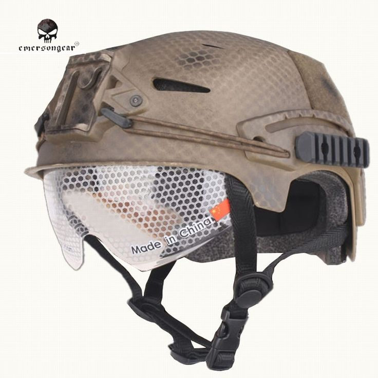 38.63$  Buy now - Emerson Upgrade EXF BUMP Tactical Helmet with Eyes Protection Goggle Paintball Army Military Sports Safety Capacete MTB Cycling  #aliexpressideas
