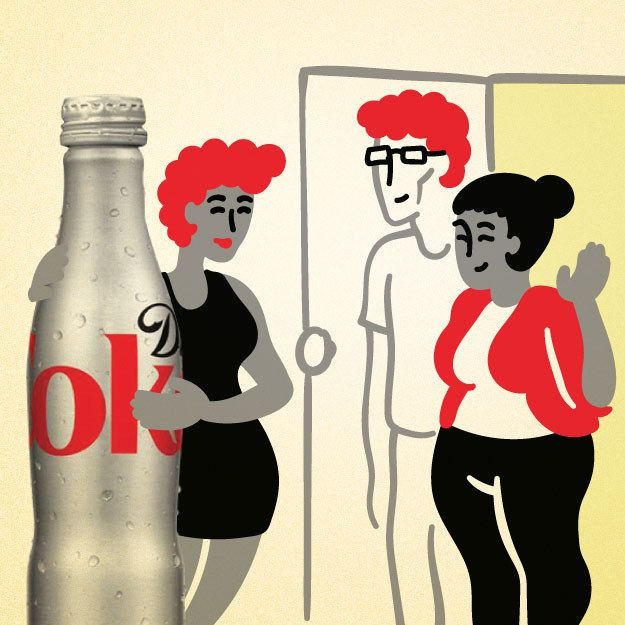 You always bring DC with you to family events and important social gatherings. | 11 Signs You're In A Serious Relationship With Diet Coke